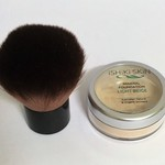 All Natural Mineral Makeup Powder for Light Skin + Kabuki brush