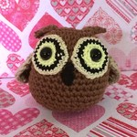 'Brown Owl' Toy Ball