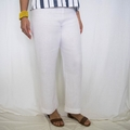 Women's 7/8 Classic Linen Pants