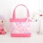 Little Girls Bag - Pink Unicorns
