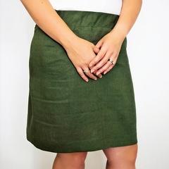 Women's Classic Ladies Skirt in Linen
