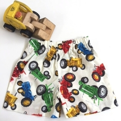"""Size 2 and 3 - """"Tractors""""Shorts"""