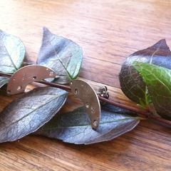 Angular clockwork earrings; gorgeous steampunk earrings.
