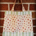 Floral Bag - Small / Children's Tote bag(includes postage)