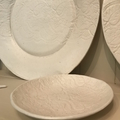LACE IMPRINTED SIDE PLATE - PORCELAIN