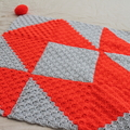 Crochet Pattern:Zesty Throw. Instant download