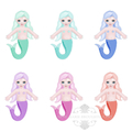 Printable Mermaid Fishing Game Birthday Party  Activity File Download