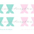 Mini Printable Mermaid Tails A4 File Download