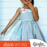 Disco Party Dress PDF Sewing Pattern