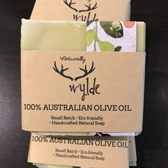 100% Australian Olive Oil all natural handcrafted soap ~ fragrance free