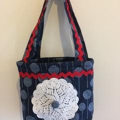Child's handbag – tote style – dandelion print 2