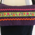 Child's handbag – ribbon and ric rac