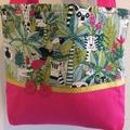 Child's handbag - jungle print 1