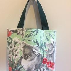 Shopping or general-purpose tote bag – retro koala print 2