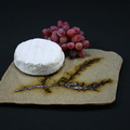 Cheese platter with rosemary impression