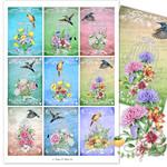 Birdcages & Bouquets ATCs Printables
