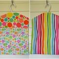 Fabric Peg Bag - Spots, Flowers & Rainbow Stripes