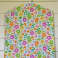 Fabric Peg Bag - Spots, Flowers & Rainbow Stripes