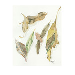 Instant Download Watercolour Leaves
