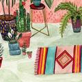 Indoor Plants Art Print 8x10