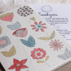Plantable Greeting Card - Mother's Day