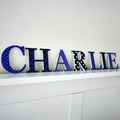 Name Plaque for Wall or Door.  9cm. 7 letters.