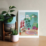 Sitting Room Art Print 8x10
