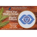 Third Eye Chakra ~ Cross Stitching, Knitting, Crocheting, Rug Making SE40006