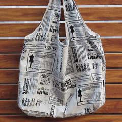 Shopping Tote - Crafty Print