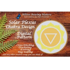 Solar Plexus Chakra ~ Cross Stitching, Knitting, Crocheting, Rug Making SE40003
