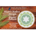 Heart Chakra Pattern ~ Cross Stitching, Knitting, Crocheting, Rug Making SE40004