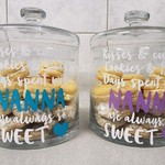 Cookie Jar Decal - Mother's Day Gift Idea