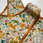 Girl's Wrap Apron/Smock, Jungle Print. Size: 2 Years.