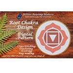 Root Chakra Pattern ~ Cross Stitching, Knitting, Crocheting, Rug Making SE40001