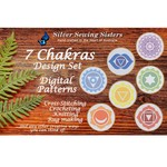 Set ~ All 7 Chakras ~ Cross Stitching, Knitting, Crocheting, Rug Making SE40008