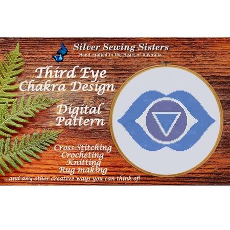 Third Eye Chakra ~ Cross Stitching, Knitting, Crocheting, Rug Making SE40006