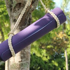 Shoulder Macramé Yoga Mat Strap | Handmade