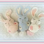 Bunny, Handcrafted Rabbit, Gift Idea Bunny, Gift, Special Occasion Bunny, Cuddly