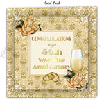 Inspirational 50th Wedding Anniversary Card