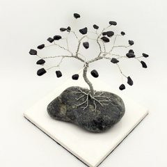 Black Stone Gem Tree
