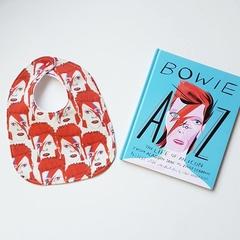 Bowie bib red