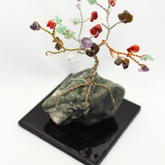 Multi Colored Gem Tree