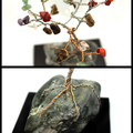 Multi Colored Gem Tree