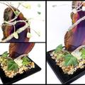 Aventurine Gem Tree with Agate Slice