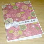 Mother's Day Card - beautiful floral design