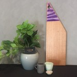 Resin8 Australia Tasmanian Oak Board - Violet Purple and Bright Purple Resin