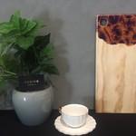Resin8 Australia Riata Pine Board - Gold and Royal Purple Resin