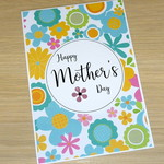 Mother's Day Card - bright flowers