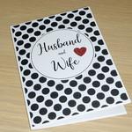 Wedding Card - Husband & Wife
