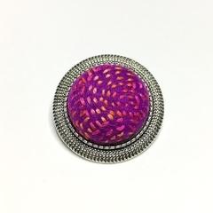 Purple Sunset Felt Brooch/Pin